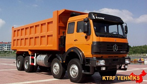 Самосвал North Benz 8x4 ND3310SAJ