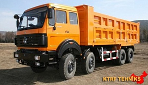Самосвал North Benz 8x4 ND3133K